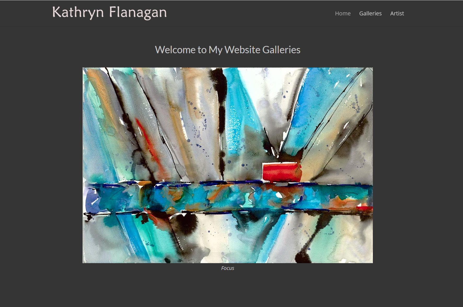 Kathryn Flanagan Website by SKWebWorks