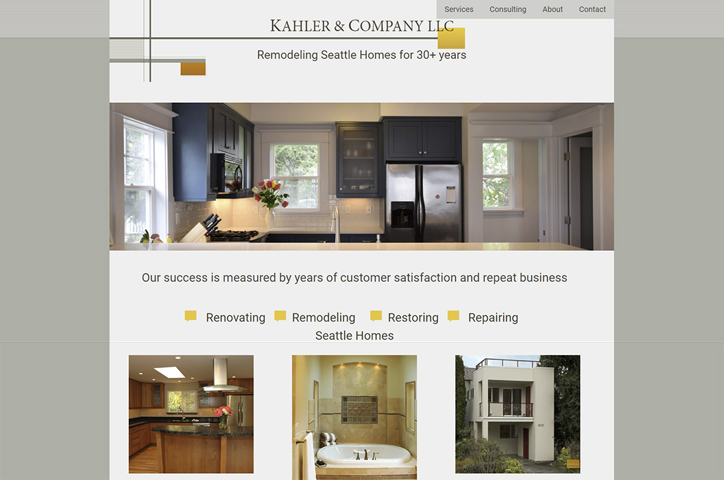 Kahler & Company Construction